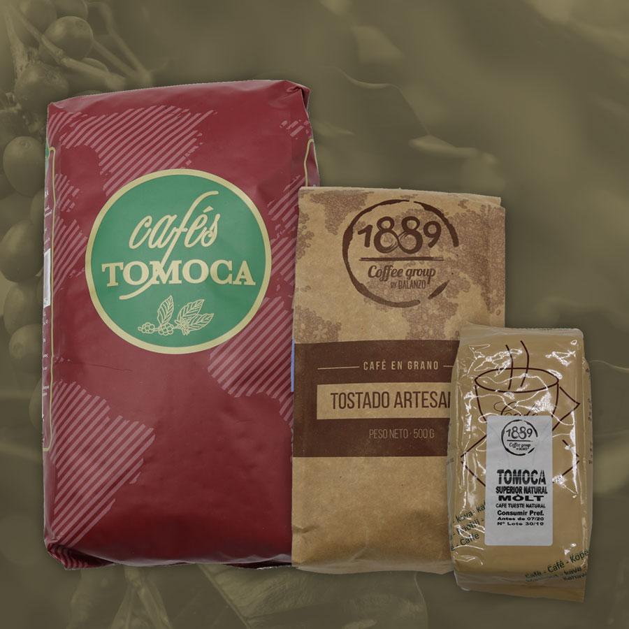 Productos Cafés Tomoca