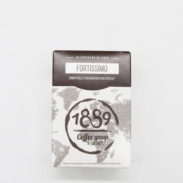 """Cafè de capsules """"Fortissimo"""""""